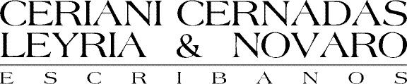 Escribanía Ceriani Cernadas, Leyría & Novaro